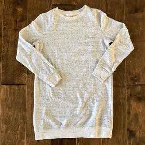 White Speckled Sweatshirt Tunic - Size 6